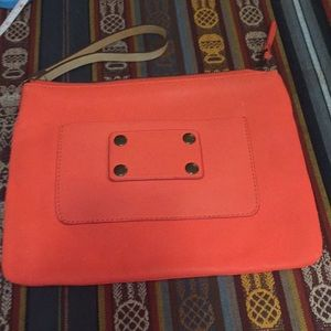 Ann Taylor wristlet in beautiful bright Orange